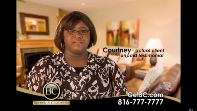 Courtney Brown & Crouppen Testimonial