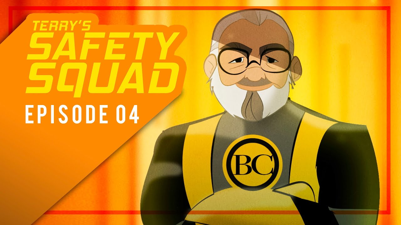 Terry's Safety Squad Illustration Episode 4