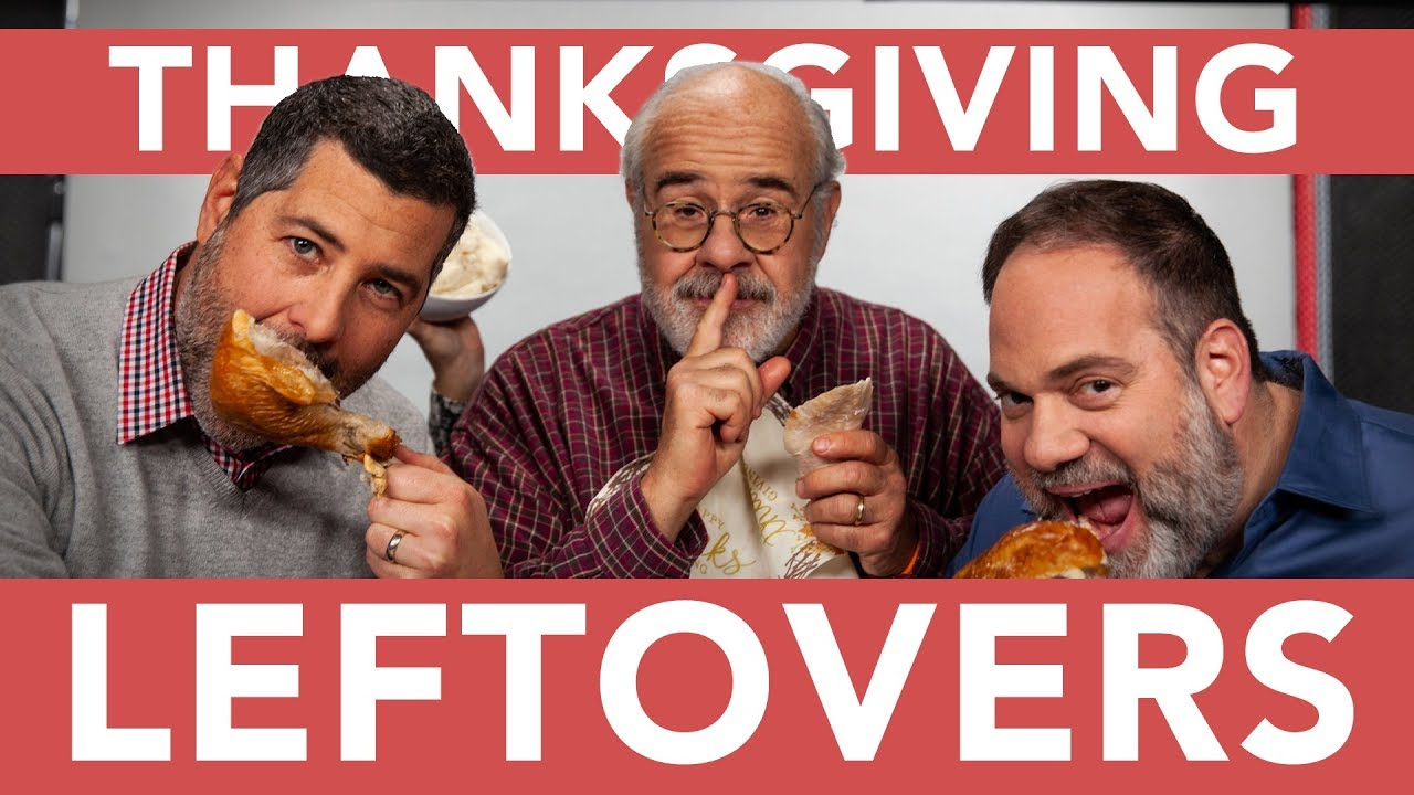3 Lawyers Eating Sandwiches Thanksgiving Leftovers